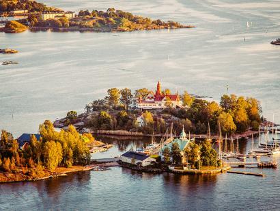 Reise in Finnland, Die grüne Inselwelt vor den Toren Helsinkis, Finnland