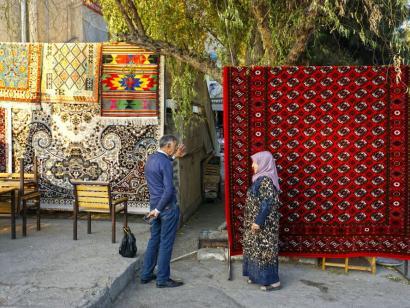 Reise in Usbekistan, Sher-Dor-Madrasah in Samarkand