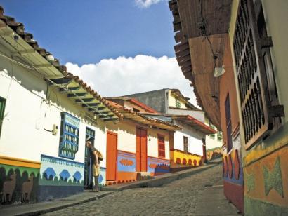 Reise in Kolumbien, Kolumbianerin  in Cartagena de Indias