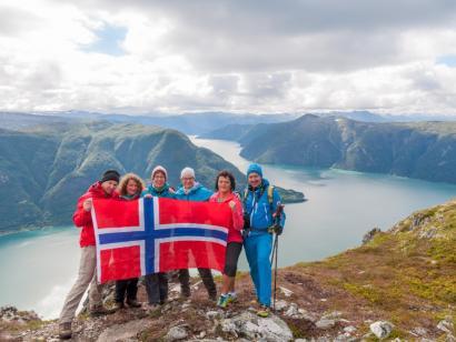 Reise in Norwegen, Norwegen - I hytta