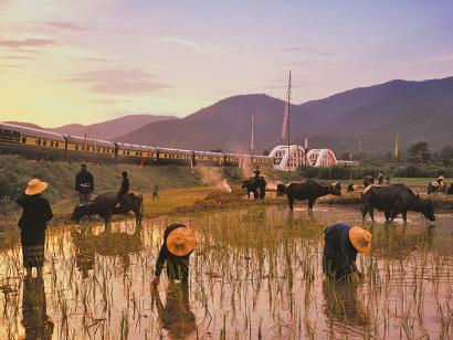 Reise in Malaysia, Der Eastern and Oriental Express