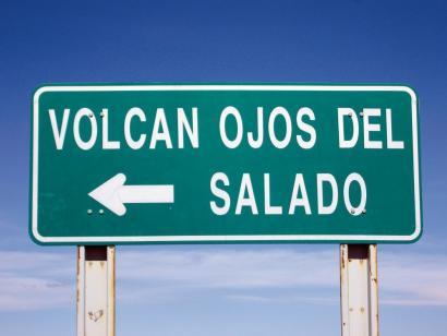 Reise in Chile, Die Weite der Landschaft zu Füßen des Ojos del Salado ist überwältigend.