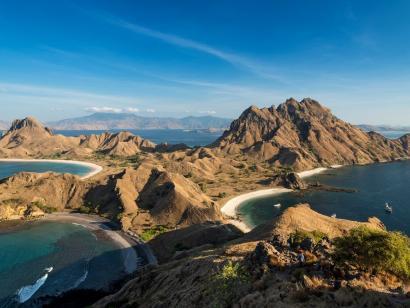 Reise in Indonesien, Morgens am Bromo