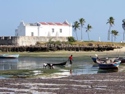 """Reise in Mosambik, """"Fortim de Santo António"""", Ilha de Moçambique"""