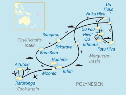 Reise in Australien, Per Postschiff durch das Südsee-Paradies (2020)
