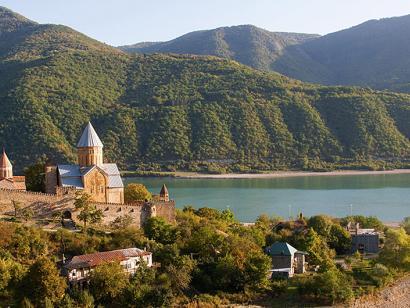 Reise in Aserbaidschan, Georgien