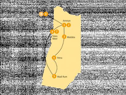 Reise in Jordanien, 0