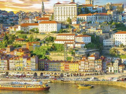 Reise in Portugal, Die Spirit of Chartwell im Hafen von Porto