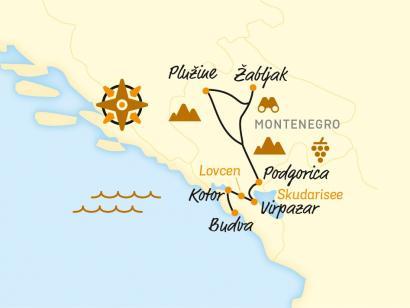 Reise in Kroatien, Radeln an der Adria und in bizarren Bergen (2021)