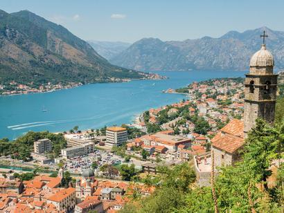 Reise in Kroatien, Bucht von Kotor