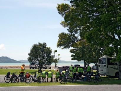 Reise in Neuseeland, Der erloschene Vulkan Taranaki auf der Nordinsel