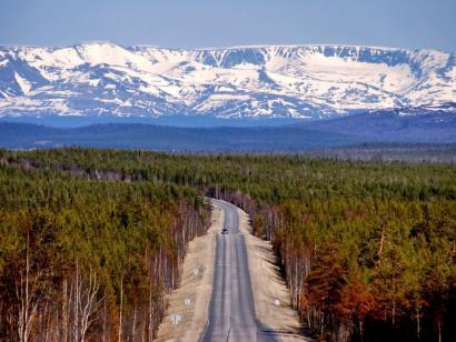 Reise in Russland, Zug durch Sibirien