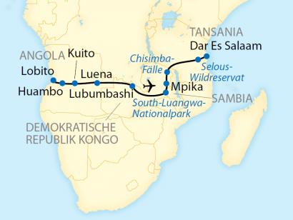 Rovos Rail von West nach Ost – Vom Atlantik zum Indischen Ozean (2020/2021)