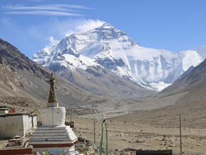 Reise in China, Rongbuk Mt. Everest