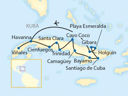 Reise in Kuba, Salsa, Rum und Revolution (2020/2021)