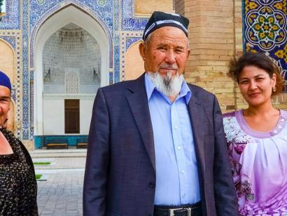 Reise in Usbekistan, 0