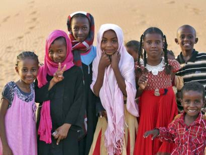 Reise in Sudan, Pyramiden von Meroe