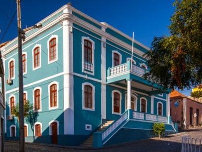 Reise in Kap Verde, Bunte Häuser auf den Kapverden