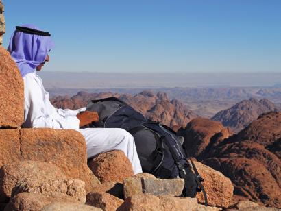 Sinai:Eremit auf Zeit im Beduinengarten