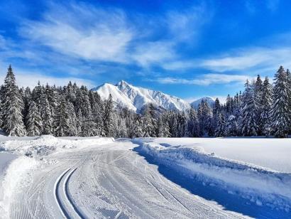 Reise in Österreich, Skicamp in der Olympiaregion Seefeld