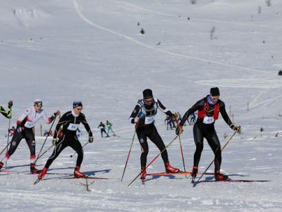 Reise in Finnland, Skimarathon Lapponia Hiihto 2021
