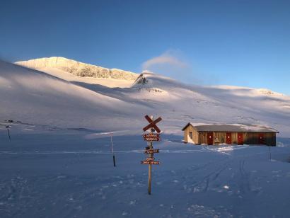 Reise in Schweden, Skitour Nordland