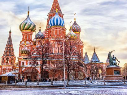 Reise in China, Basilius-Kathedrale in Moskau, Russland