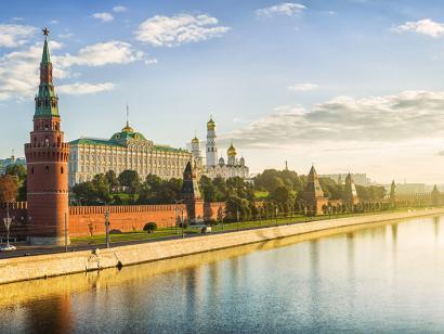 Reise in China, Moskau, Russland