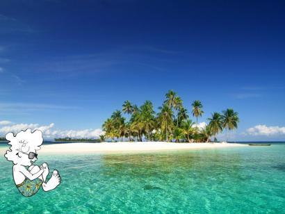 Reise in Panama, San Blas Insel