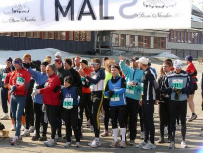 Reise in Norwegen, Spitzbergen-Marathon