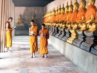 Reise in Kambodscha, Sonnenaufgang über Angkor Wat