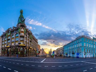 Reise in Russland, St. Petersburg: Städtereise