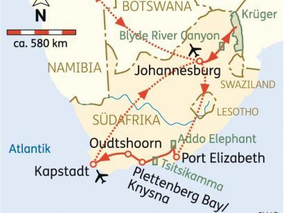 Reise in Südafrika, Südafrika:Impressionen 2