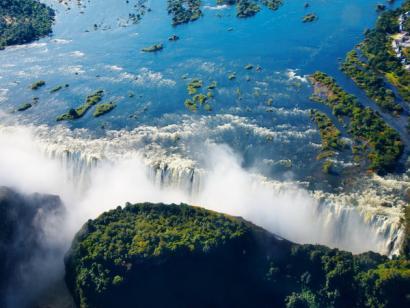 Reise in Botswana, Südafrika, Simbabwe & Botswana - Tierparadies mit tosenden Wasserfällen (Camping)