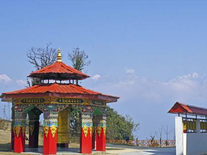 Reise in Bhutan, Blick auf das Tigernest-Kloster