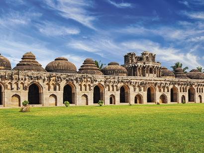 Reise in Indien, Antike Ruinen von Elephant Stables