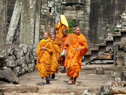 Reise in Kambodscha, Das Südtor von Angkor Thom