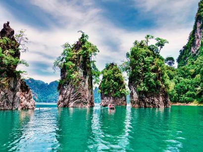 Reise in Thailand, Thailand: Höhepunkte im Süden