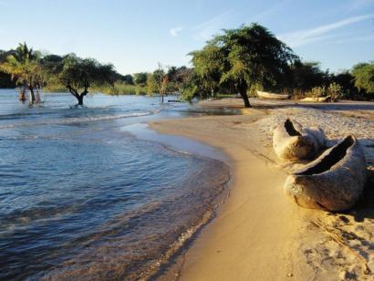 Reise in Malawi, Dhow auf dem Malawi-See