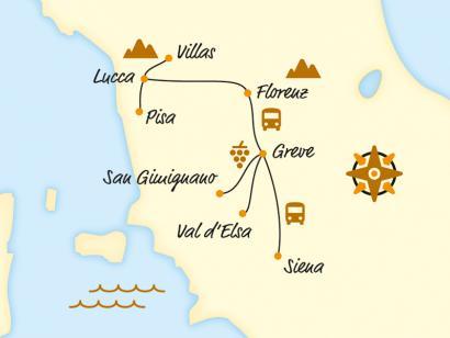 Toskana – Italiens Schatzkammer (2020/2021)
