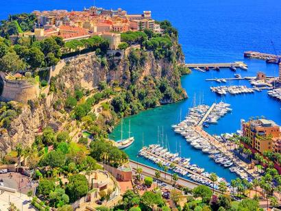 Reise in Deutschland, Altstadt von Monaco