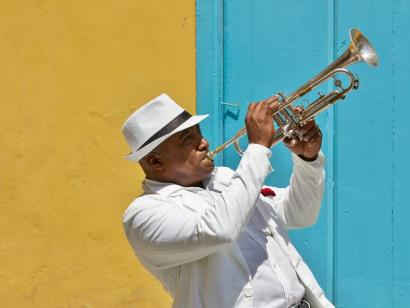 Reise in Kuba, Straßenmusiker