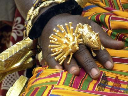 Reise in Benin, Ashantikönig