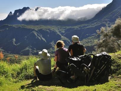 Reise in Réunion, Berge bei Mafate