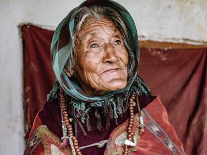 Reise in Indien, in Zanskar