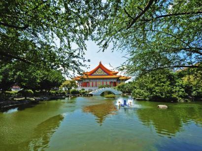 Reise in Taiwan, Die Nationale Konzerthalle von Taipei