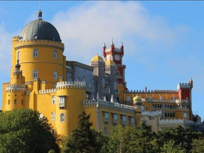 Reise in Portugal, Der Palacio National da Pena in Sintra