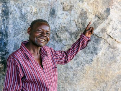 Reise in Malawi, Fröhliche Kinder am Malawi-See