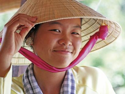 Reise in Vietnam, Begegnung auf dem Markt