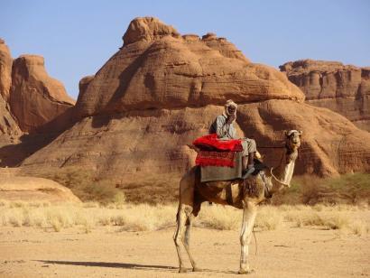 Reise in Tschad, Camp im Ennedi